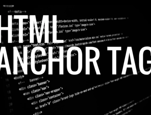Link to Web Destinations using HTML Anchor Tags [VIDEO]